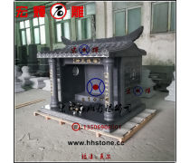 包运输花岗石土地公庙原厂生产石雕小房子