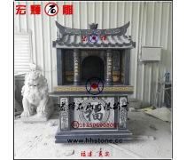 新造型石材福德正神小庙石雕伯公宫双层2.2米高