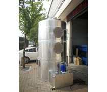 绿森工厂直销酸雾净化塔不锈钢喷淋填料塔可来图定制