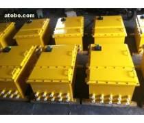 自己请人焊接的钢板配电箱,防爆自耦减压电磁起动器