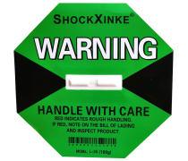 SHockXinkE防震标签 震撞显示标贴消锅贴