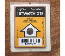 tiltwatchxtr防倾斜感应器警示标签包装运输不干胶防倒置标识别