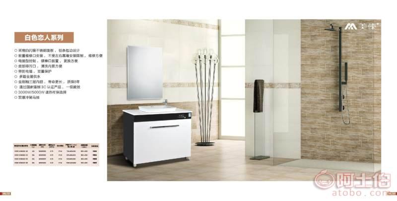 40升、50升、60升、80升不挂墙电热水器浴室柜集成电热水器厂家直销 详情图5