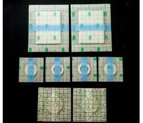 珠海市透明防水贴防水pu膜膏药布贴/膏药布一包多少钱