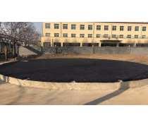 河南南阳防腐沥青砂石化储罐垫层铺设防潮防静电