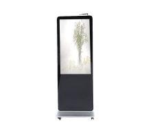 三明65寸高清液晶广告屏广告机  立式超薄安卓网络版  高亮防水落地户外广告屏