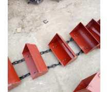 可承重链板输送机安装 防尘 沙子斗提机