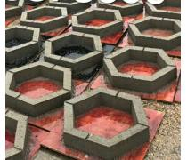 道路护坡工程承包护坡砖锁扣砖六棱砖