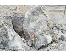 岩石静爆用什么机械产量高