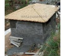 福建茅草木屋