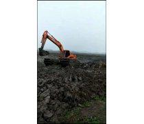 山西太原附近水上挖掘机出租水上钩机出租江南公司发布