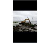 水上挖掘机出租浙江台州市天台附近