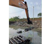 中山佛山珠海清淤机械水陆两用挖掘机出租江南服务热线