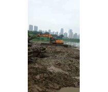 特种淤泥清淤挖掘机出租东莞城区东城西城附近