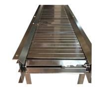 石子链板输送机定制 铁件运输链板输送机价格品牌厂家