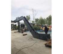 大功率重型刮板输送机大提升量 沙子刮板运输机