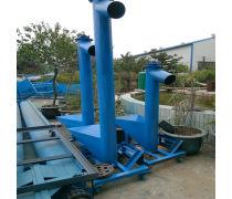 移动式螺旋提升机 兴运绞龙输送机供应  粮食圆管加料机
