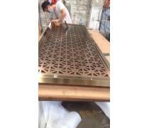 成都专业设计定制金属不锈钢屏风定做