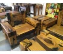 惠州老船木沙发品牌排行|户外阳台小茶几