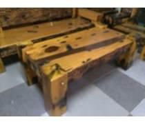 安徽/山东老船木沙发家具回收|中式船木茶桌