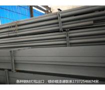 上海钢材喷砂?#28100;?#21943;漆加工厂出口钢材打包厂