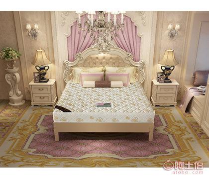 安阳高级撊棉床垫 天然椰棕 家用 高密海绵 旺宝床垫