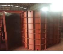 广州墩柱钢模板 倒角方柱模板 异型墩柱模板 桥梁钢模板批发价格