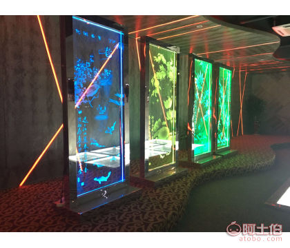 激光内雕玻璃加工