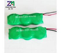 ZM�S家批�l��涑潆��池40MAH3.6V�M合引���d��灰缸扣式�~扣�池40H3.6VB型40H 3.6V B型