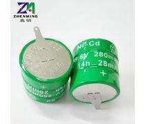 ZM真明��涑潆��池280mah3.6V�M合�子�b控玩具�池�b控器�池280K3.6V280K 3.6V