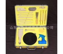 育德精装铝合金定位泥塑工具泥工工具教育配送