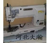 河北大瀚�创ㄅ�6620缝纫机脚垫专用拼接双针机carmatmachine