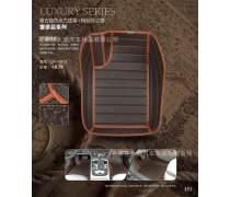 大瀚联合汽车脚垫材料卷材DH-085X欧米纹皮革carmatmaterials欧米皮革+6.0xpe+毛刺/pe