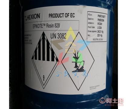 供应 美国 瀚森  HEXION  双酚A型透明 低卤素 低氯含量 环氧树脂 EPIKOTE828