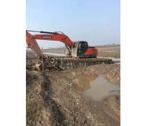 水陆两用挖掘机出租