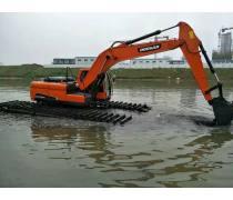 山东水陆挖机改装