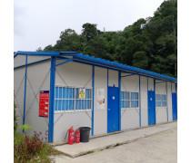 出口马来西亚活动板房 抗震抗风 彩钢板活动房