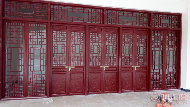四川仿古门窗厂家、中式门窗定制、四川花格门窗销售 详情图2