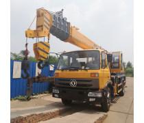 新款供应16吨吊车  陕汽16吨吊车价格 16吨汽车吊自重 配置丰富