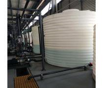 5吨酸碱液体储罐 5吨防腐PE储罐 化工专用塑料储罐厂家