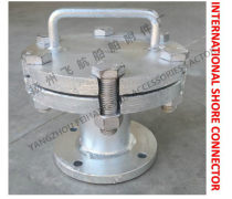 碳钢镀锌生活污水污水通岸接头BS6050 CB/T3657-94,BS10050CB/T3657-9