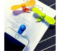Mini Mobile Phone Fans Support Android Or Iphone