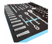双拼EVA工具箱托盘 EVA汽车工具车托盘定制厂家