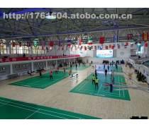 篮球场运动木地板施工案例