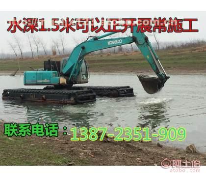 水路挖掘�C/水上挖掘�C出租(查�)、湖北武�h