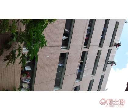 香港外墙清洗工具_大厦外墙清洗