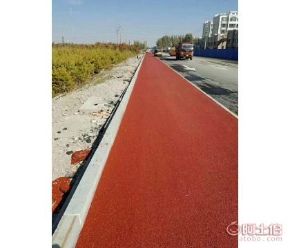 彩色沥青混凝土施工工艺