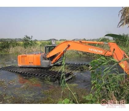 低价租赁出售200型水上清淤挖机出租服务招商