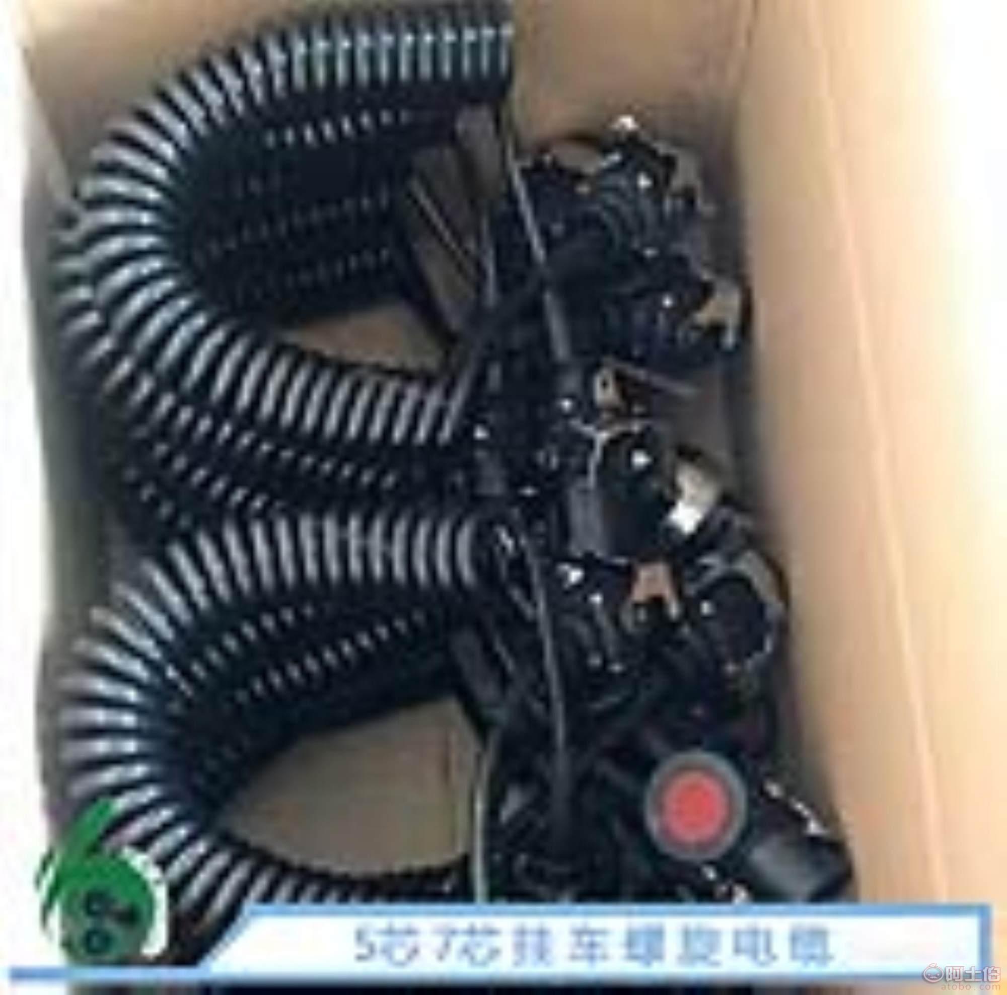 挂车螺旋电缆/拖车连接线/弹簧线厂家/abs螺旋线