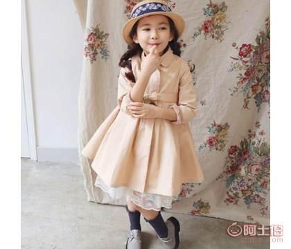 【品牌棉衣爆款品牌童装韩版女童时尚新品小香绒外套男装图片